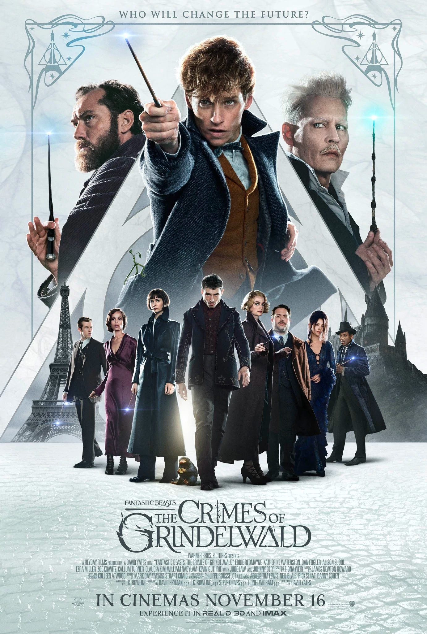 'Crimes of Grindelwald' theatrical poster