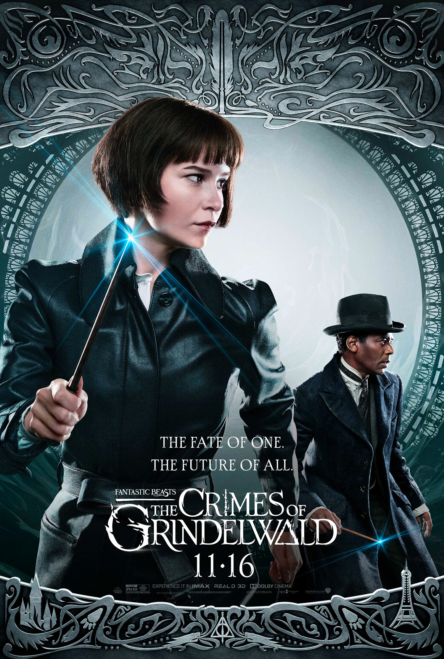 'Crimes of Grindelwald' Tina poster #2