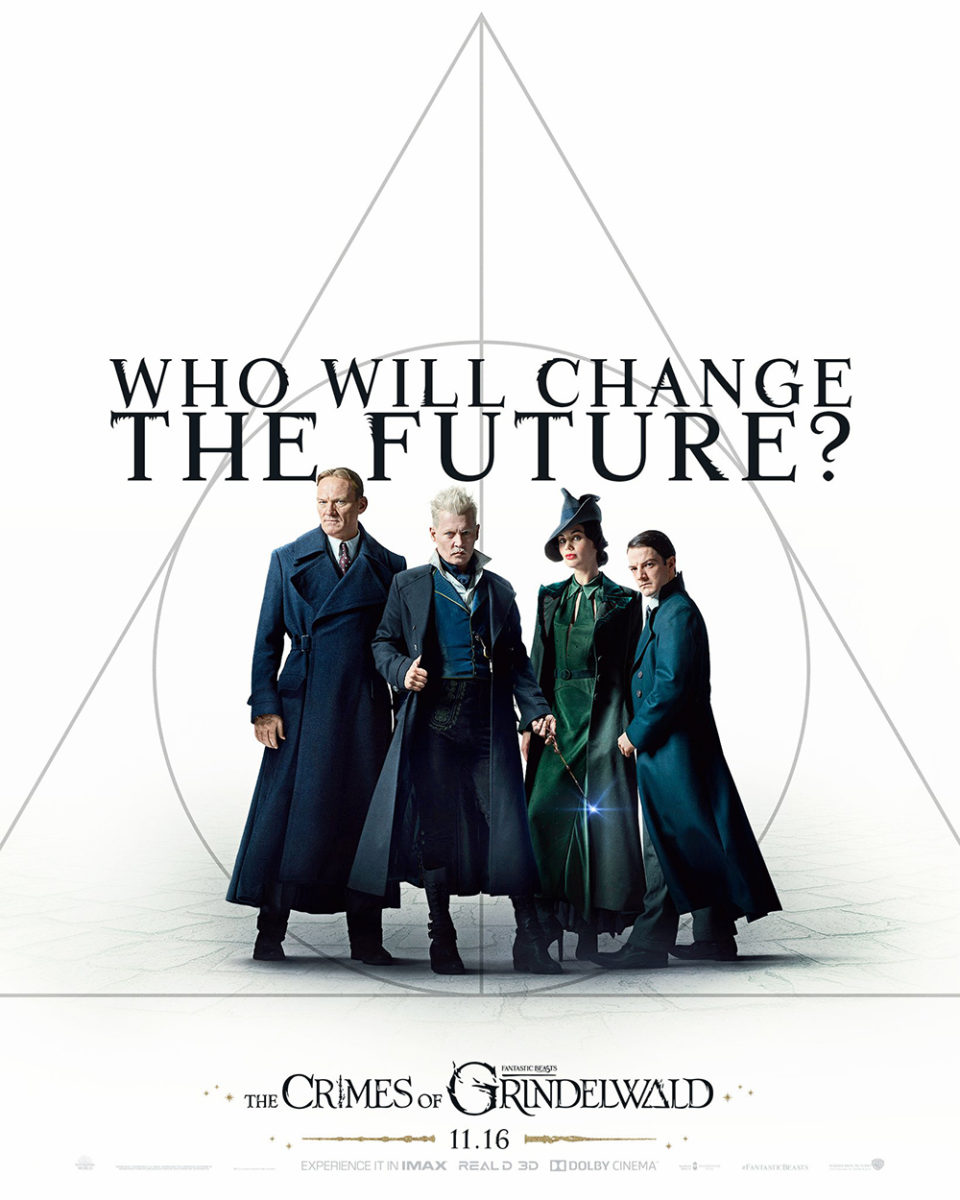 'Crimes of Grindelwald' 'Who Will Change the Future' poster #2