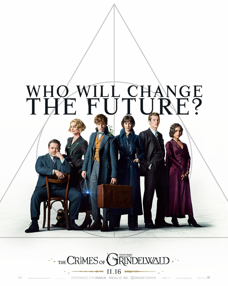 'Crimes of Grindelwald' 'Who Will Change the Future' poster #4