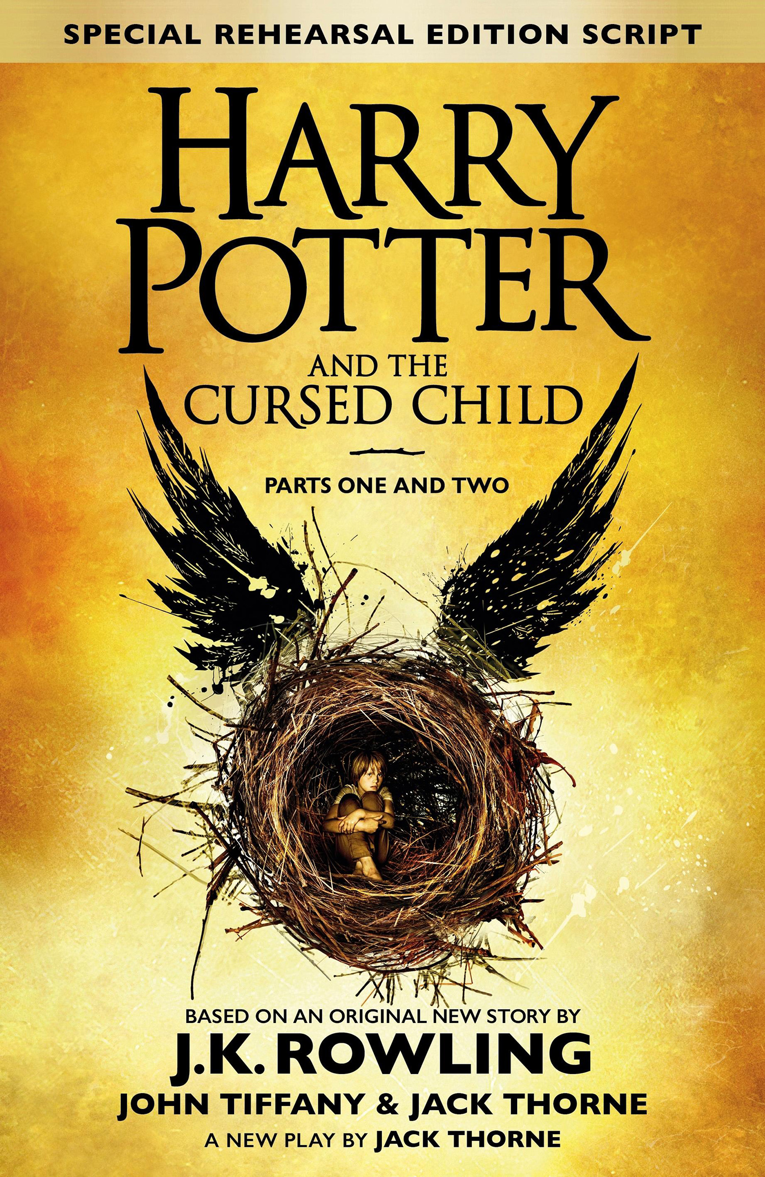 'Cursed Child' script book (UK)