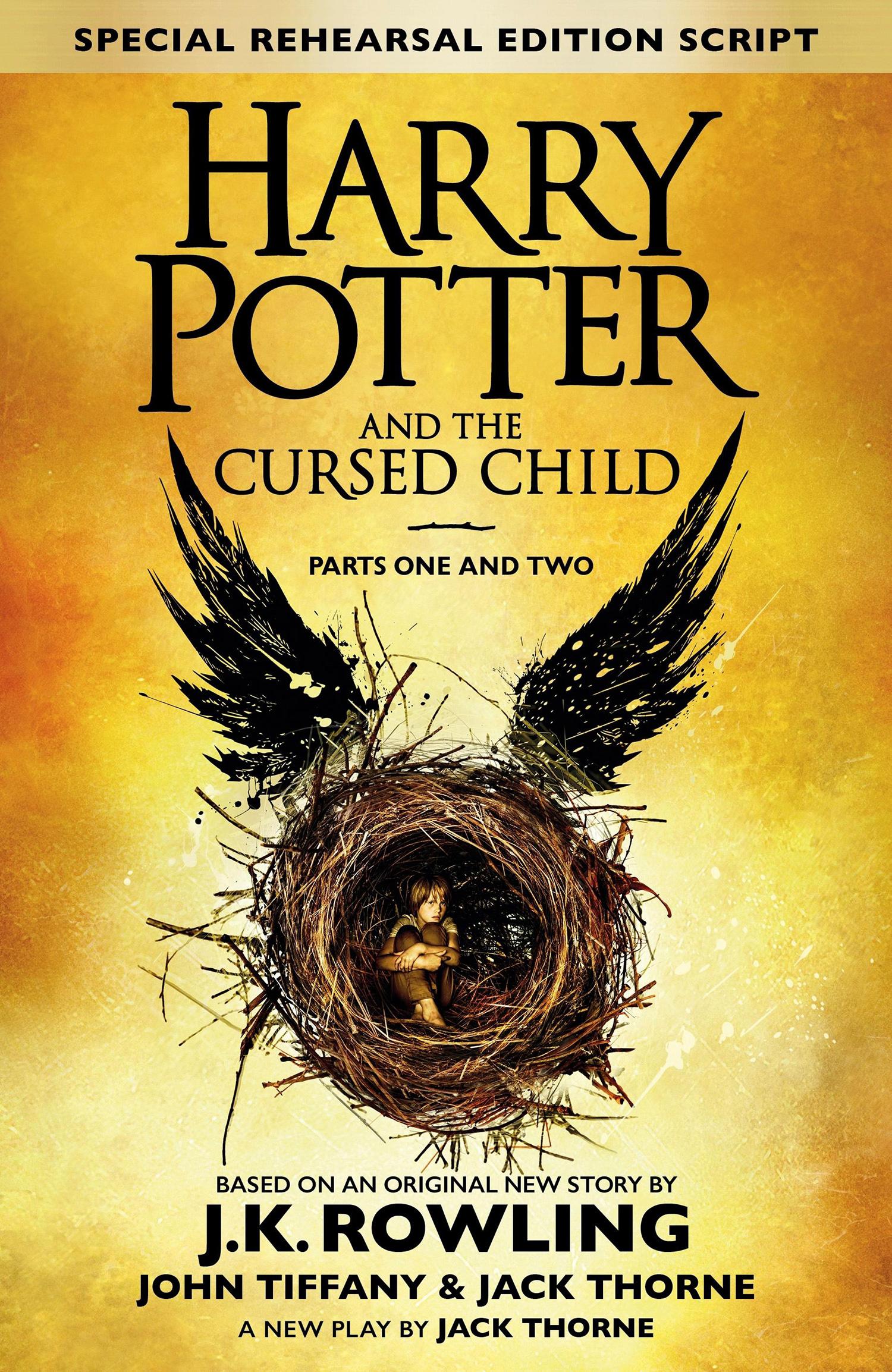 'Cursed Child' script book