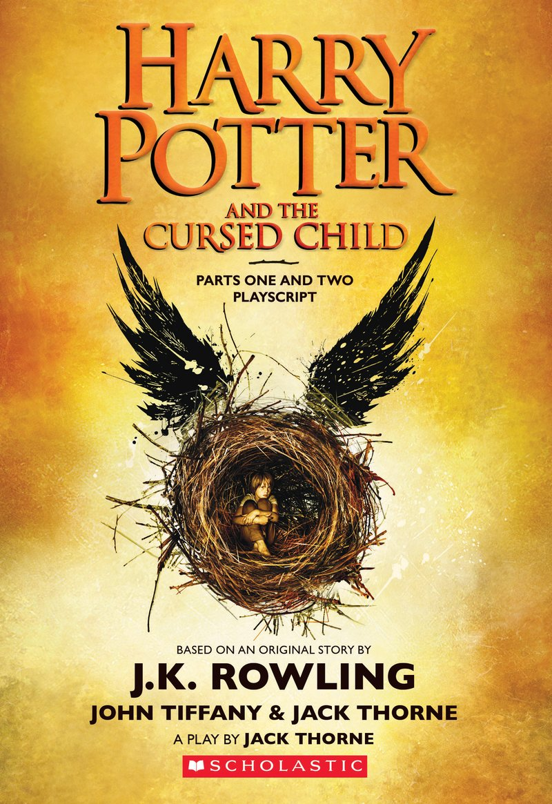 'Cursed Child' script book (US)