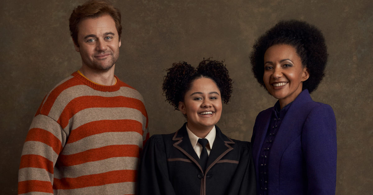 Cast portraits from the Australian production of 'Cursed Child' unveiled