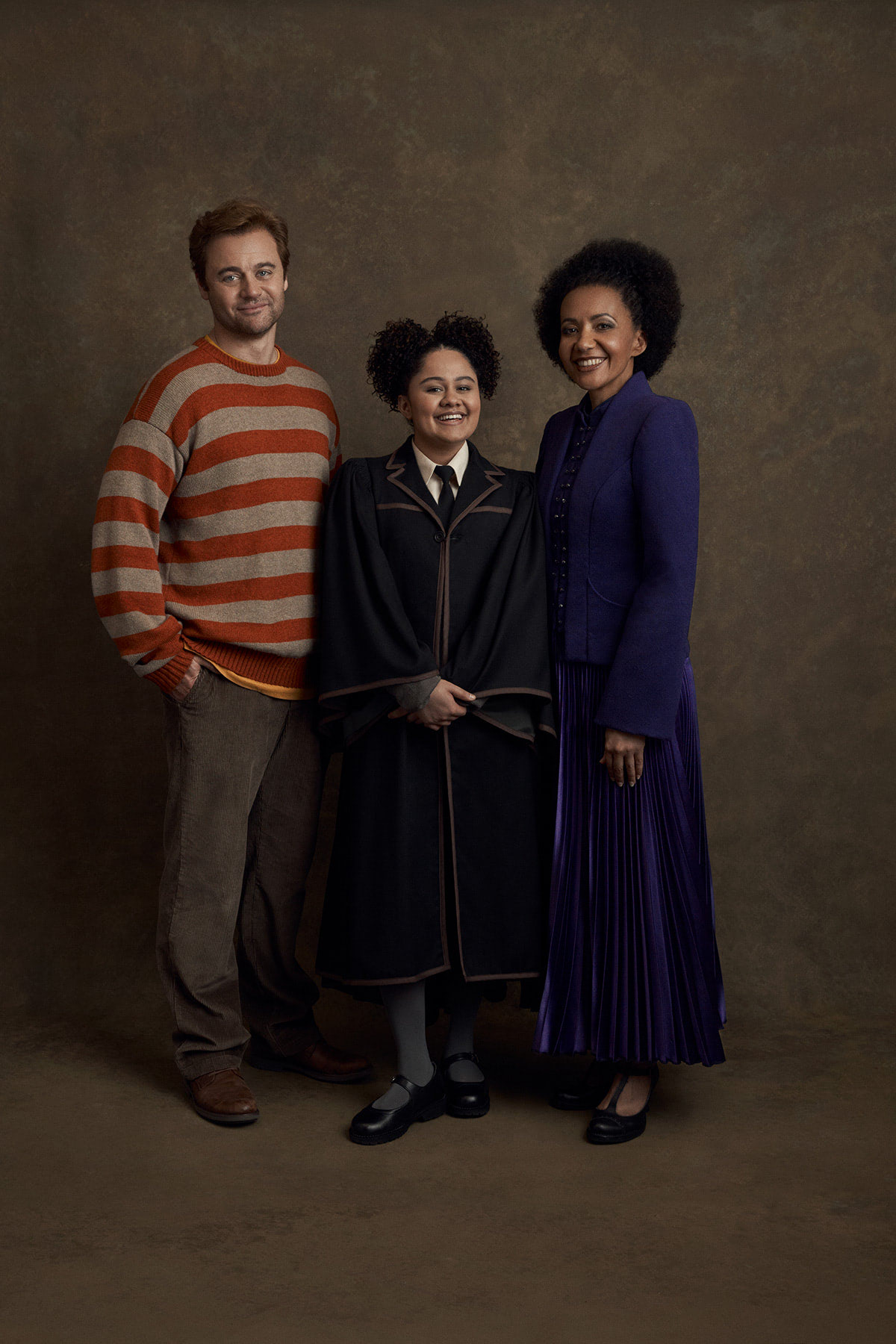 Ron, Rose and Hermione in the Melbourne production of 'Cursed Child'