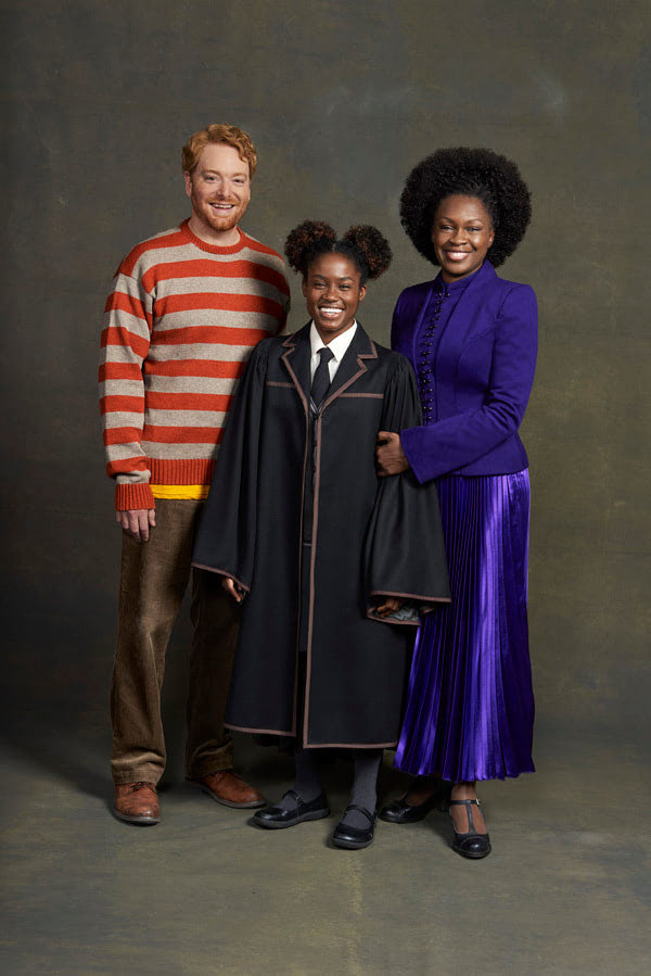 Ron, Rose and Hermione ('Cursed Child' San Francisco)