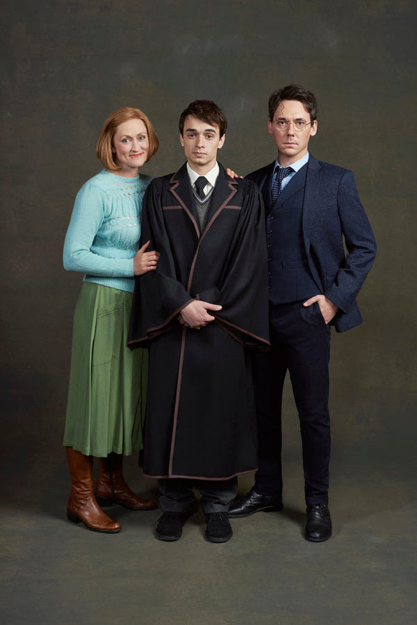 Potter family ('Cursed Child' San Francisco)