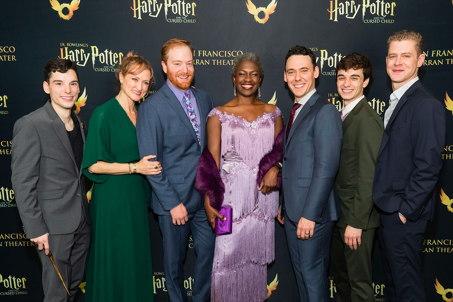 Cast walk the red carpet at the 'Cursed Child' San Francisco premiere