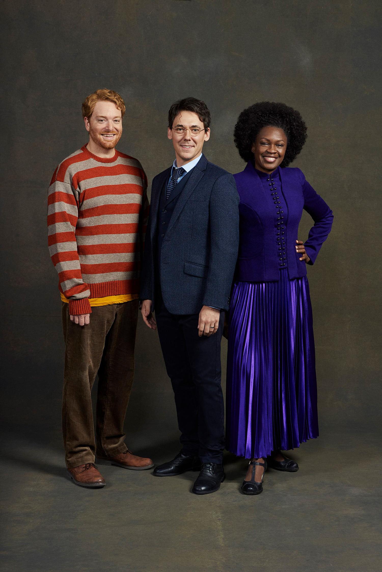 Ron, Harry and Hermione ('Cursed Child' San Francisco)
