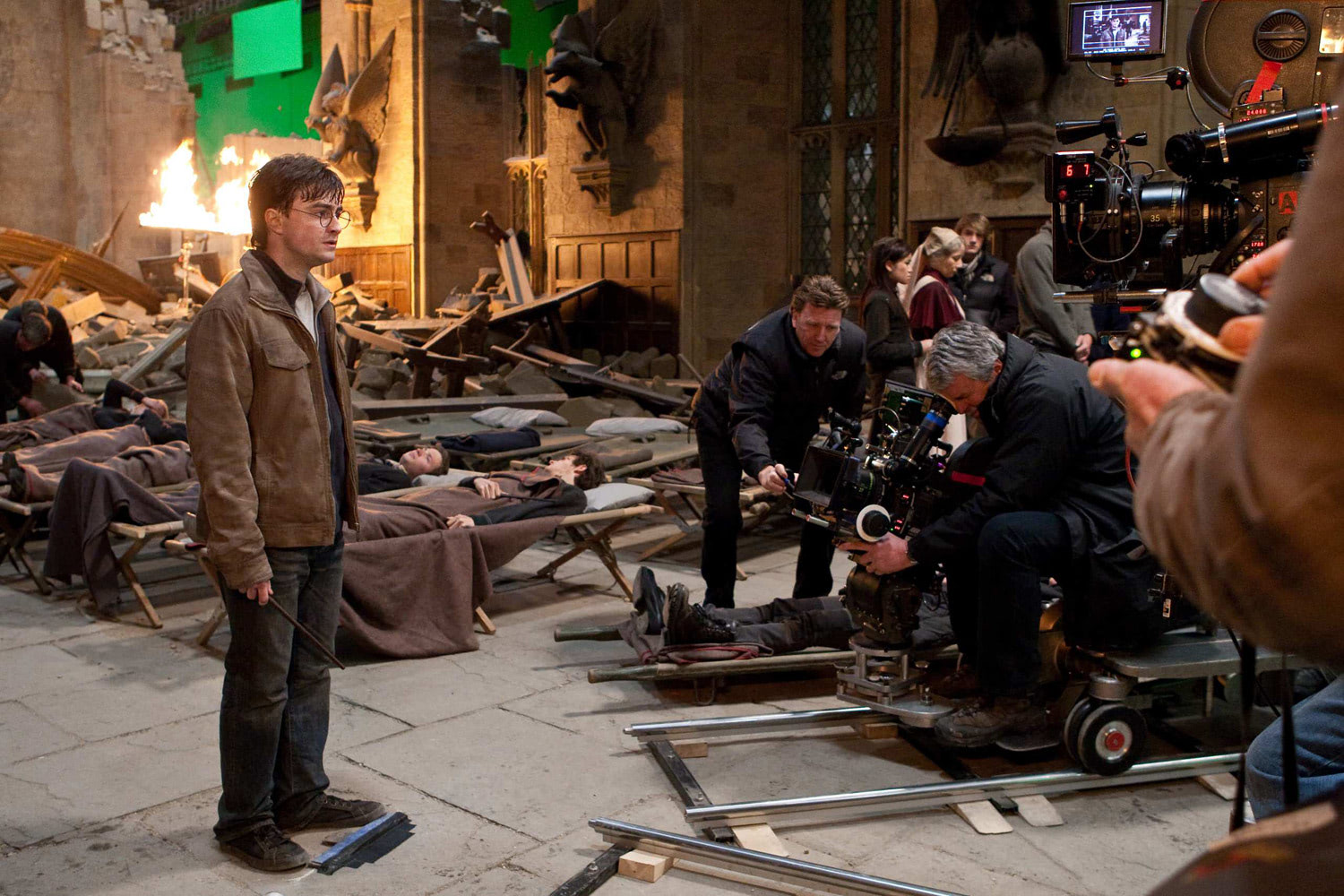 Filming Deathly Hallows
