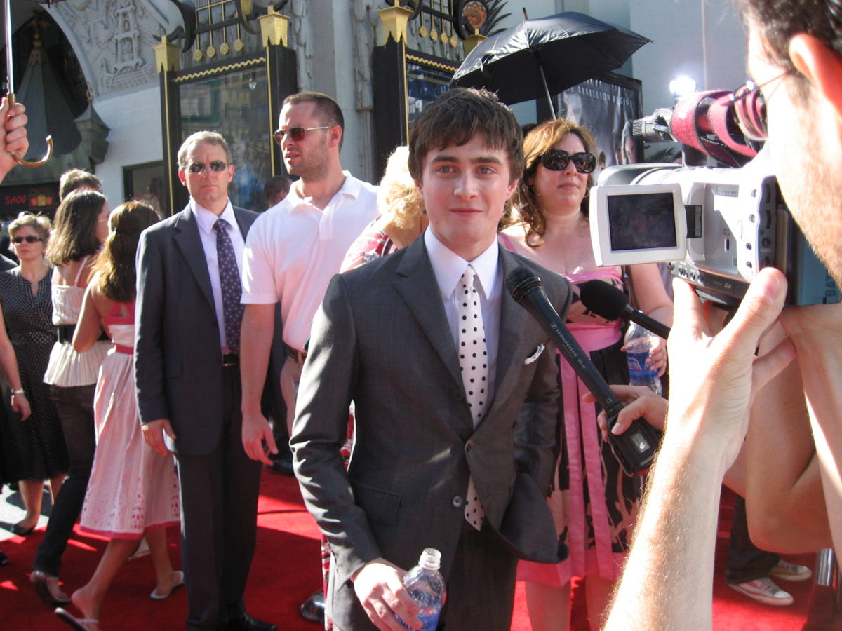 Daniel Radcliffe at the Los Angeles 'Order of the Phoenix' premiere