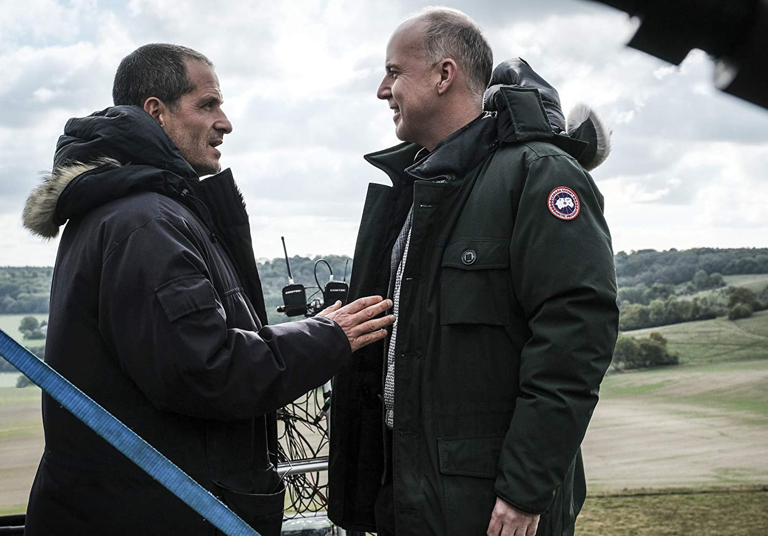 David Heyman and David Yates on location