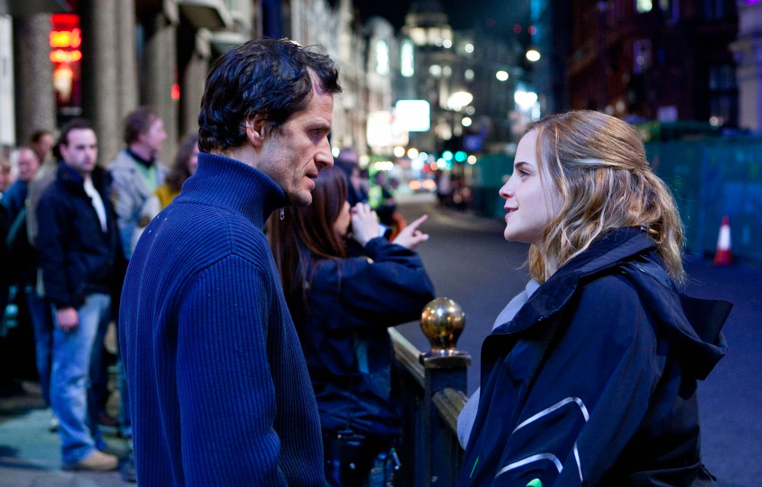 David Heyman and Emma Watson