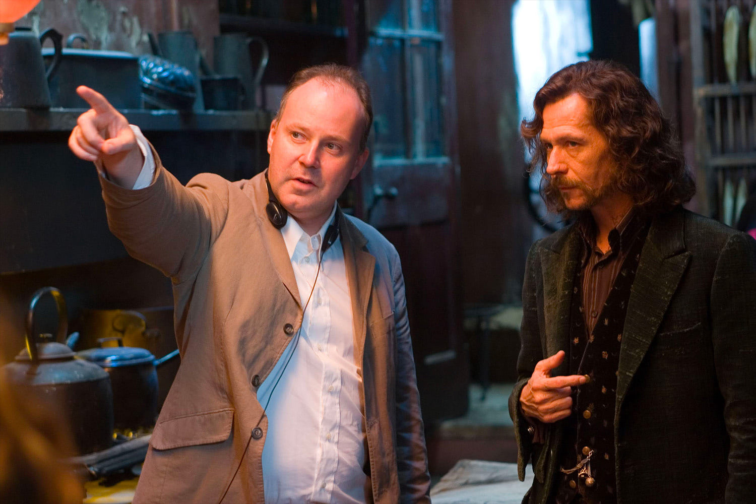 David Yates and Gary Oldman