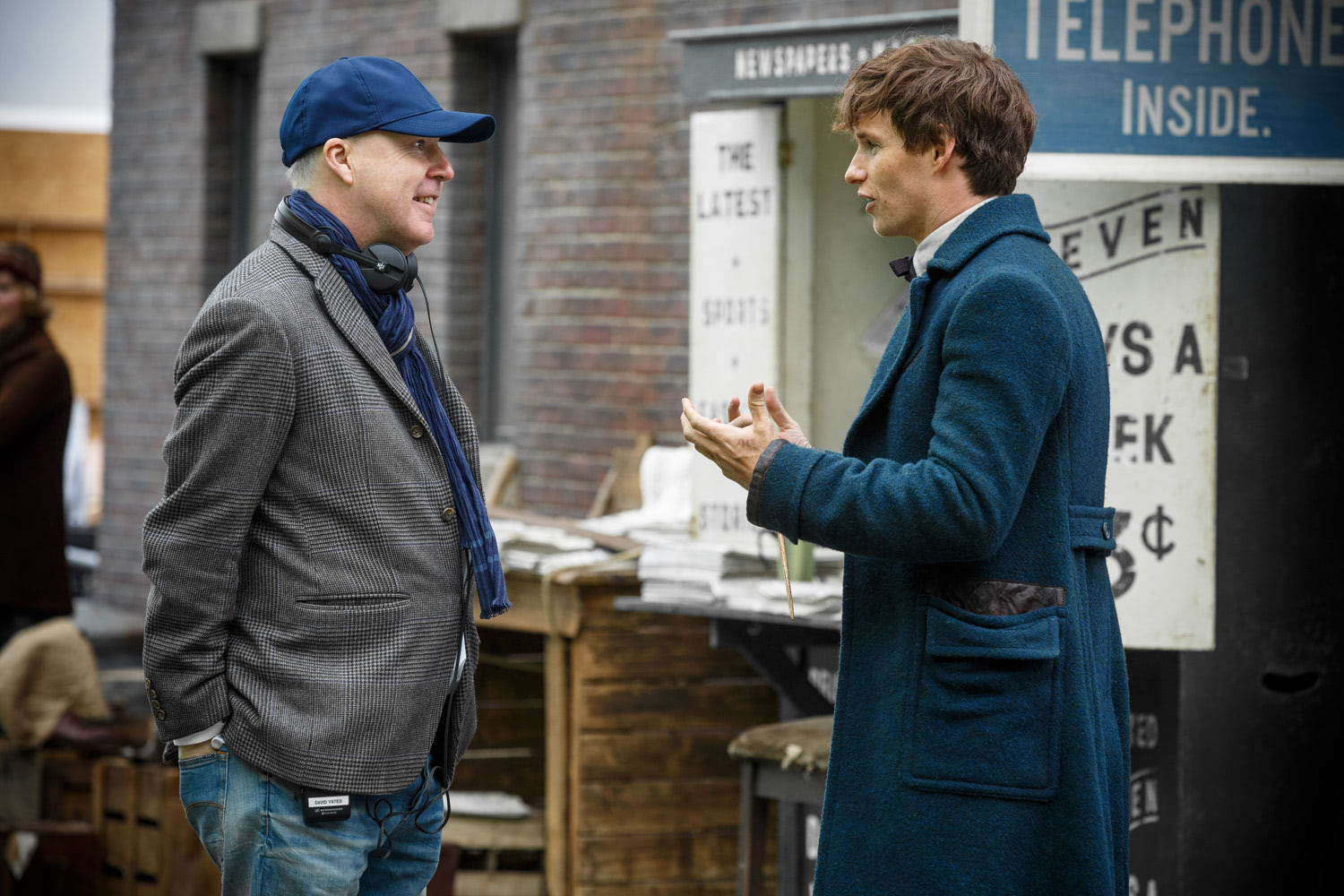 David Yates chats with Eddie Redmayne