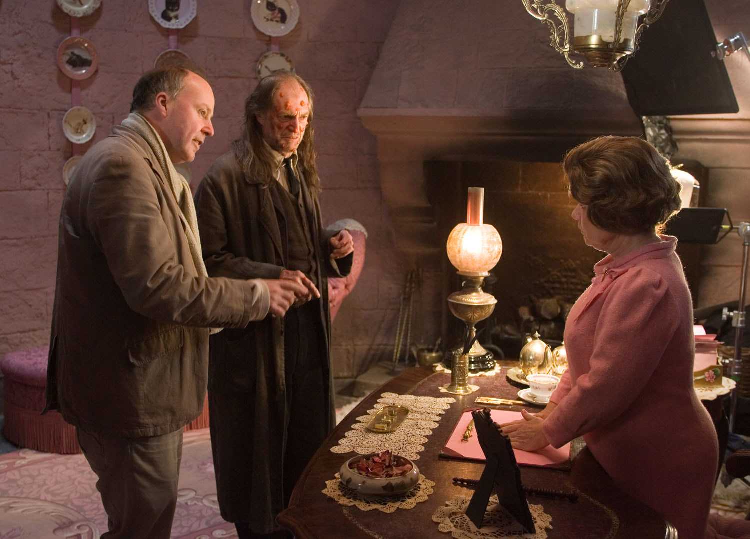 David Yates, David Bradley and Imelda Staunton