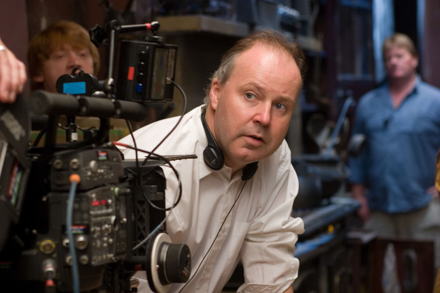 David Yates directing 'Order of the Phoenix'