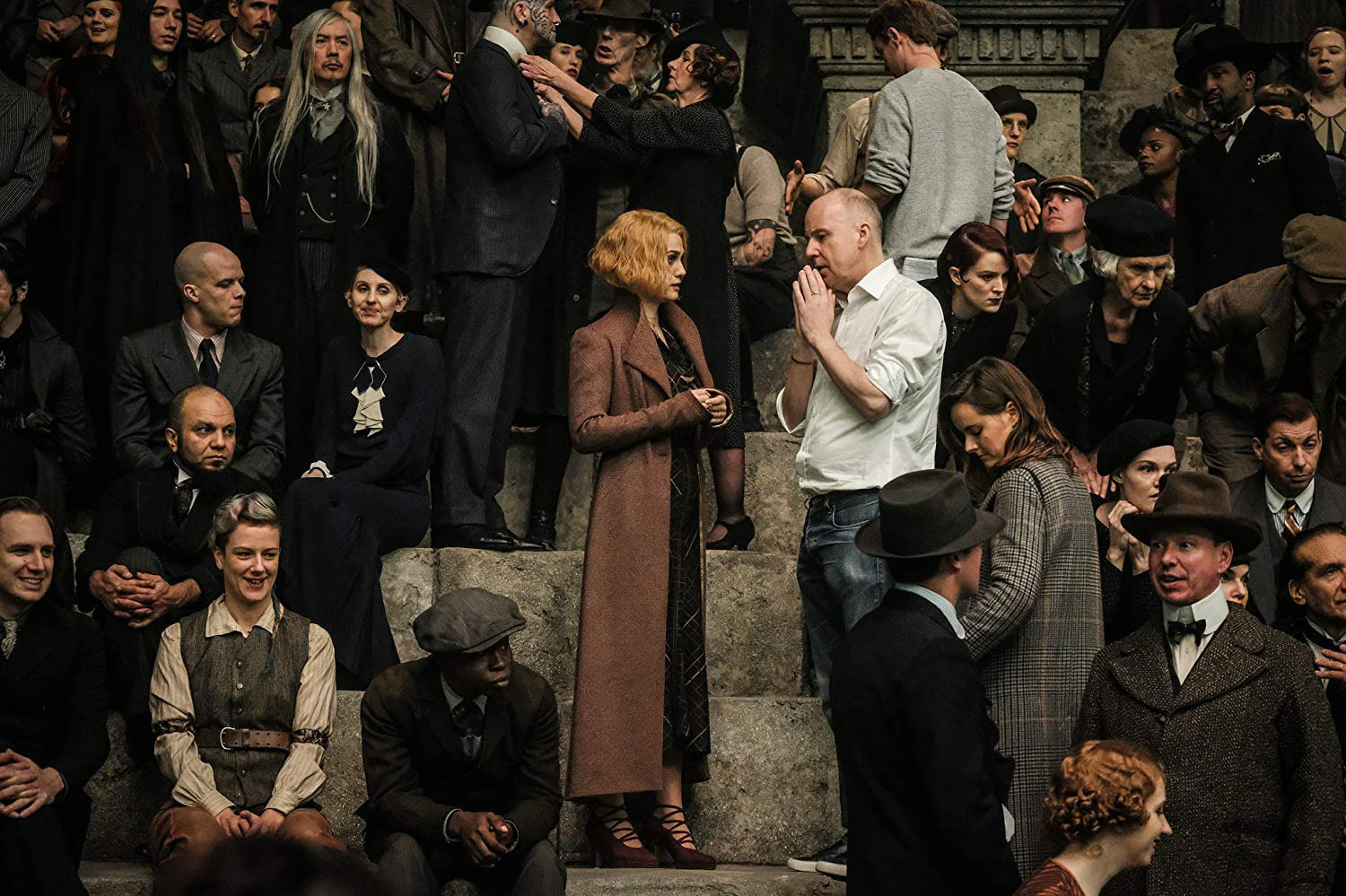 David Yates directs Alison Sudol