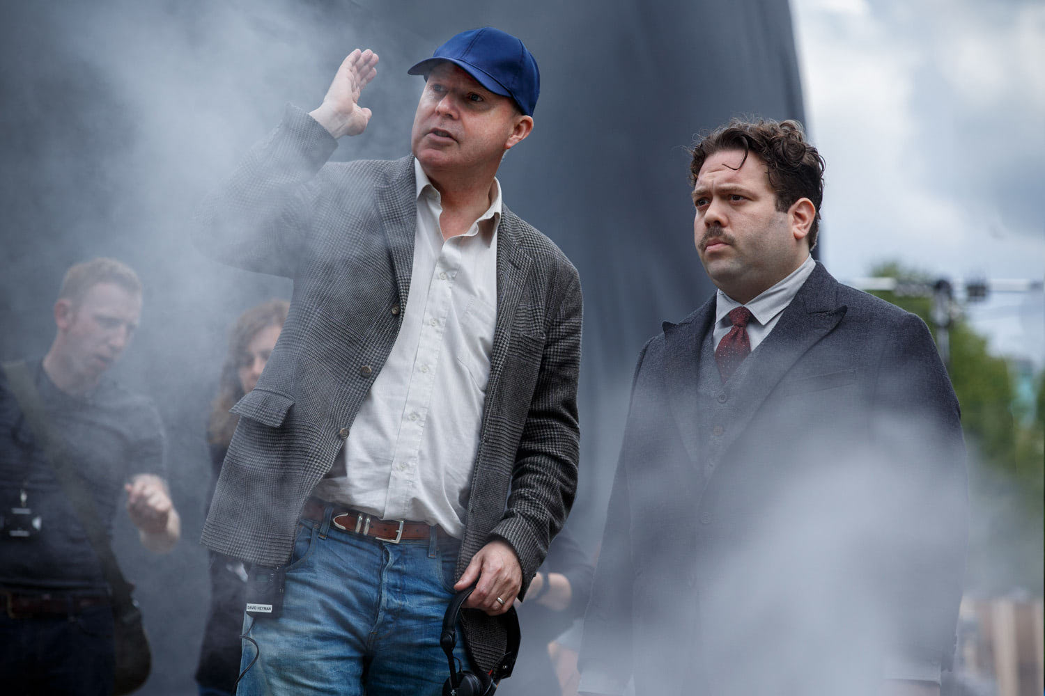 David Yates directs Dan Fogler