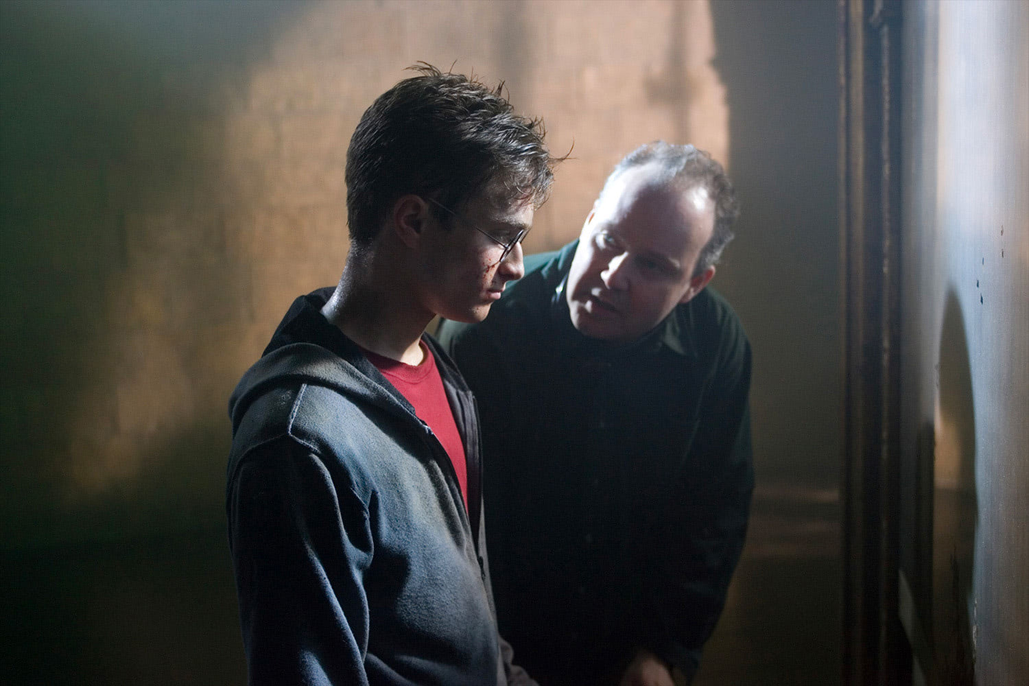 David Yates directs Dan Radcliffe