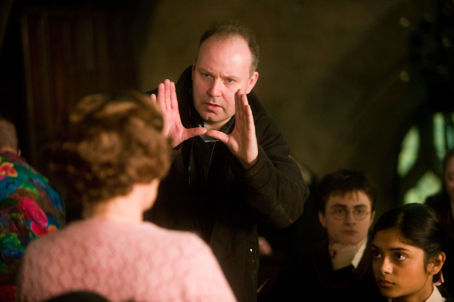 David Yates and Imelda Staunton