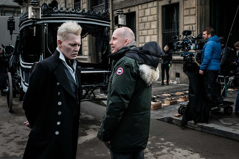 David Yates directs Johnny Depp