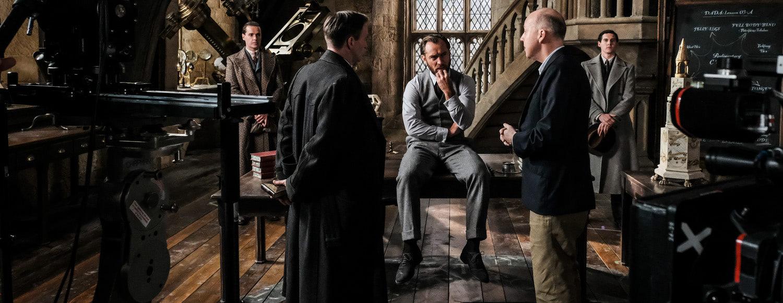David Yates directs Jude Law