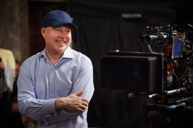 David Yates shoots a scene