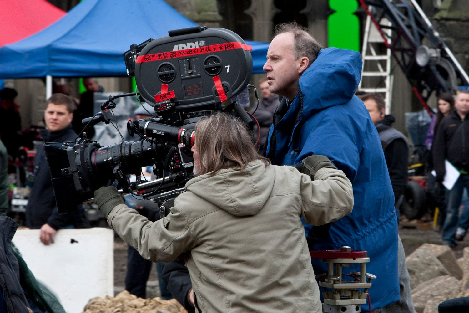 David Yates shoots the Battle of Hogwarts