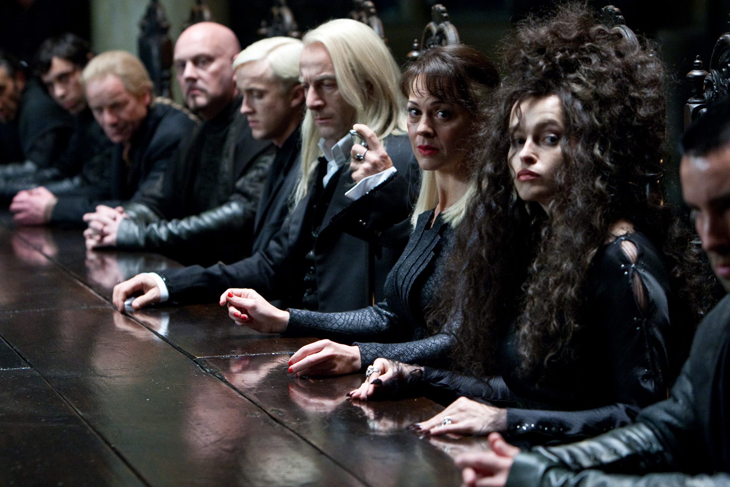 Death Eaters at Malfoy Manor