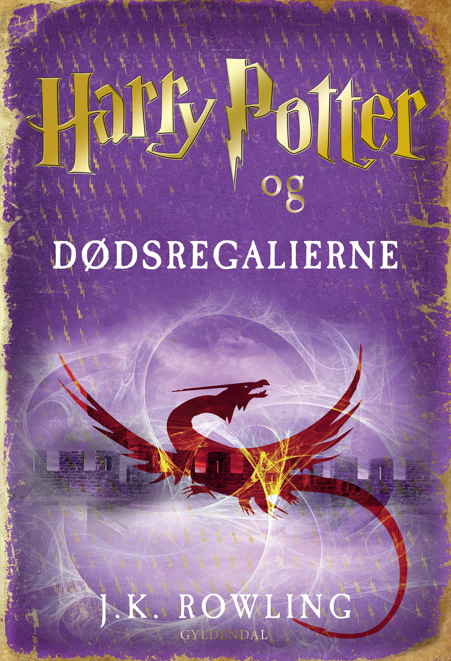 'Deathly Hallows' Danish edition (2012)