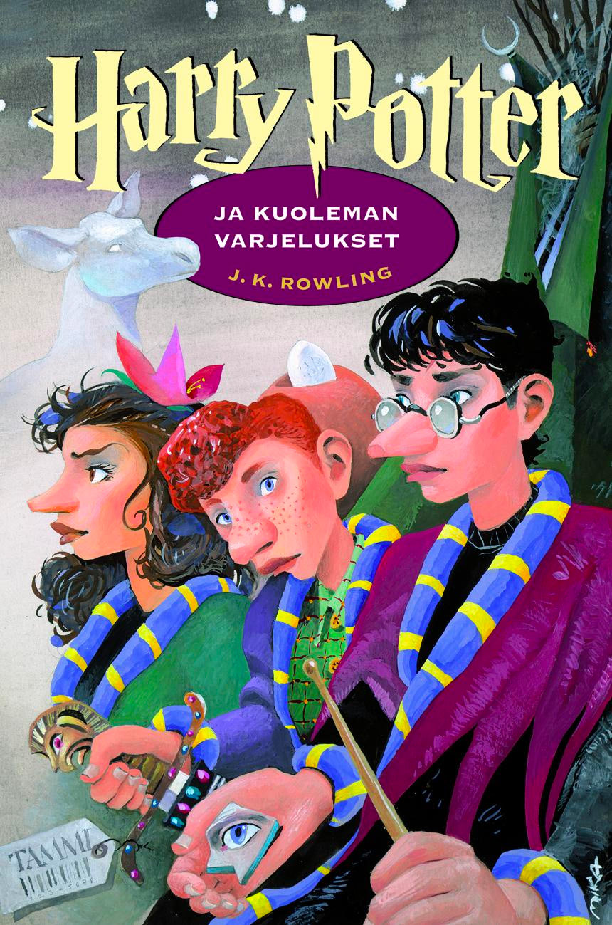'Deathly Hallows' Finnish edition