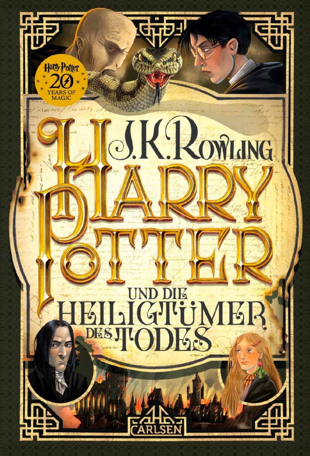 'Deathly Hallows' German '20 Years of Magic' edition