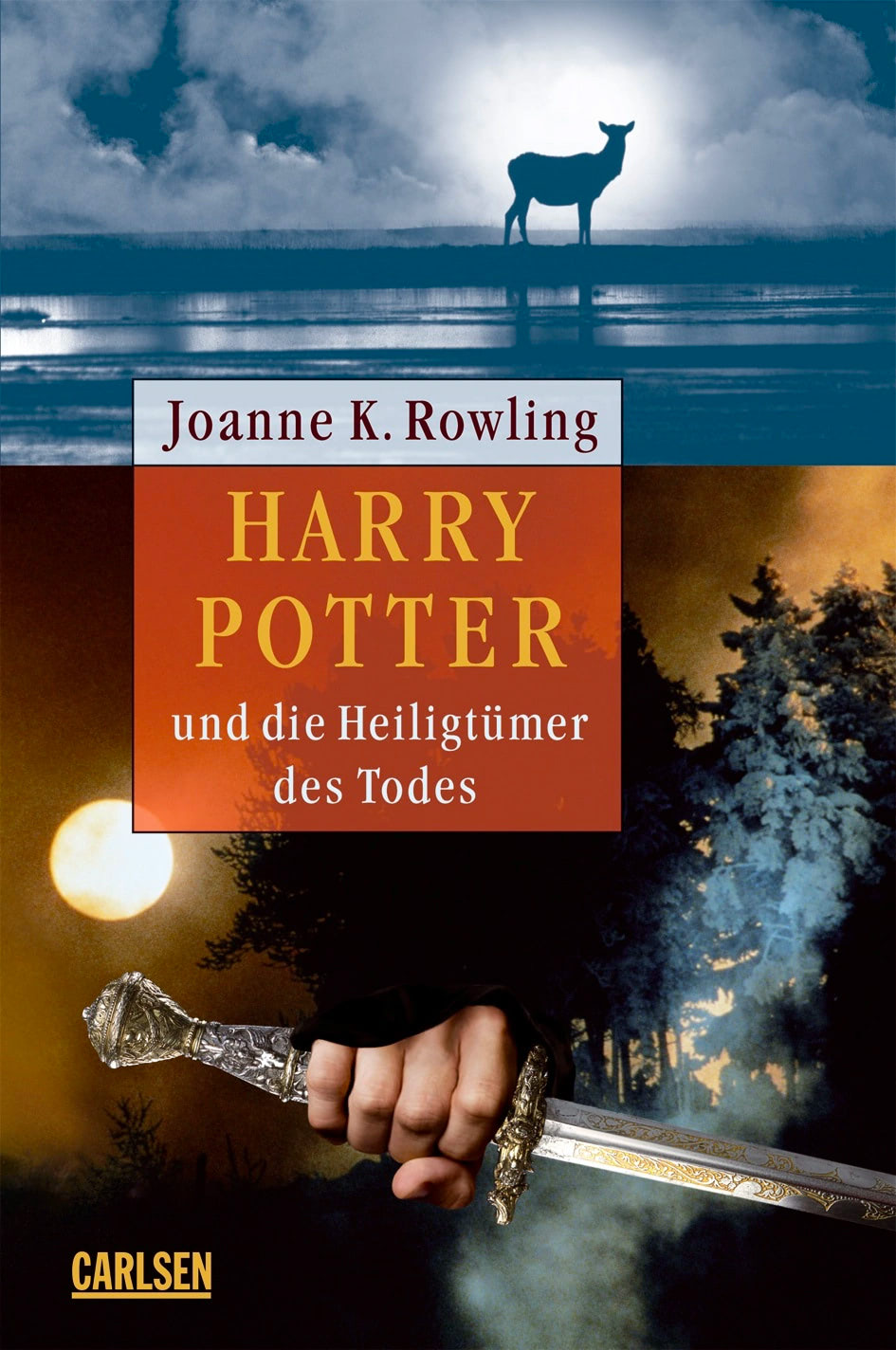 'Deathly Hallows' German adult edition