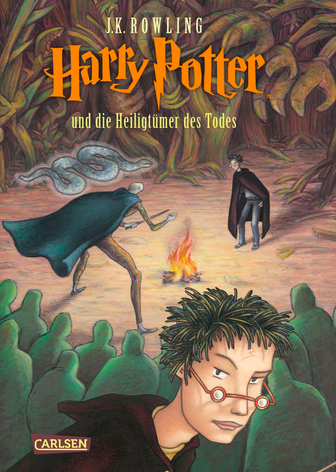 'Deathly Hallows' German edition