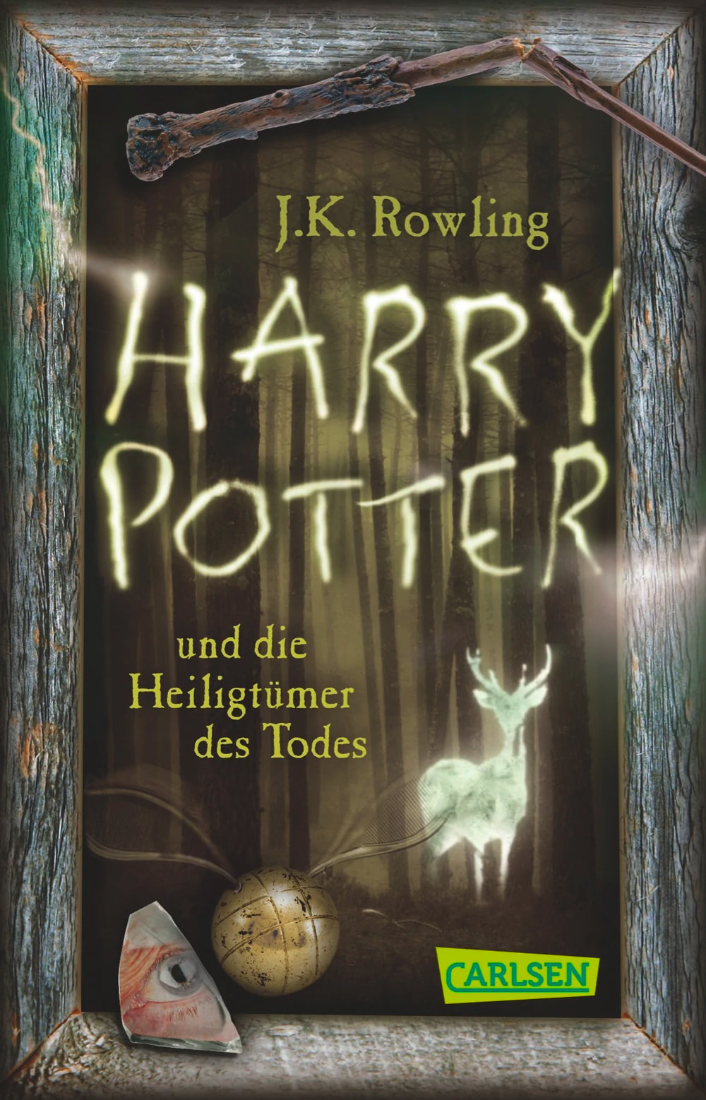 'Deathly Hallows' German anniversary pocket edition