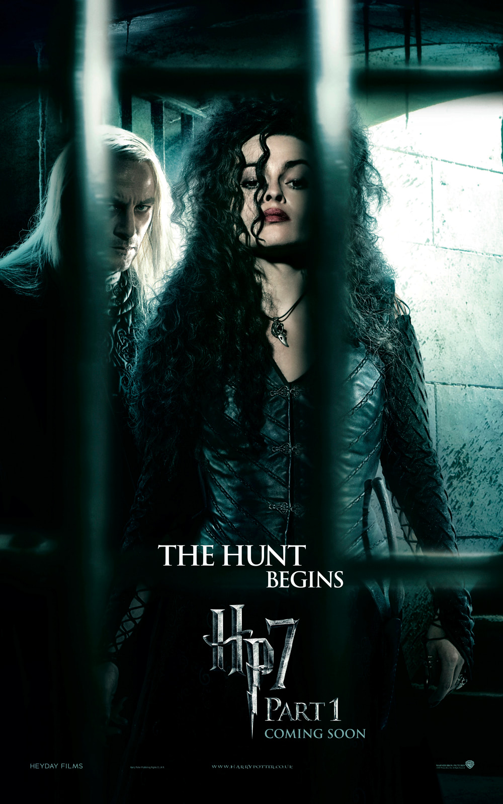 'Deathly Hallows: Part 1' Bellatrix & Lucius poster