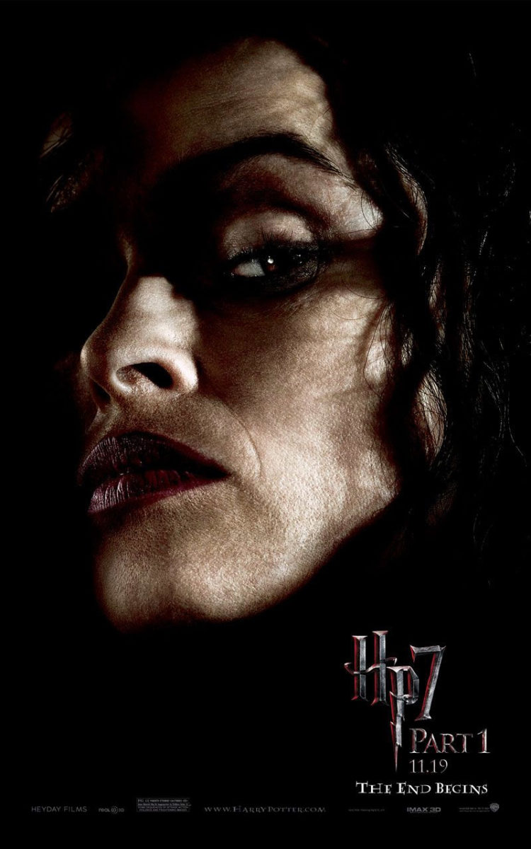 'Deathly Hallows: Part 1' Bellatrix poster #2
