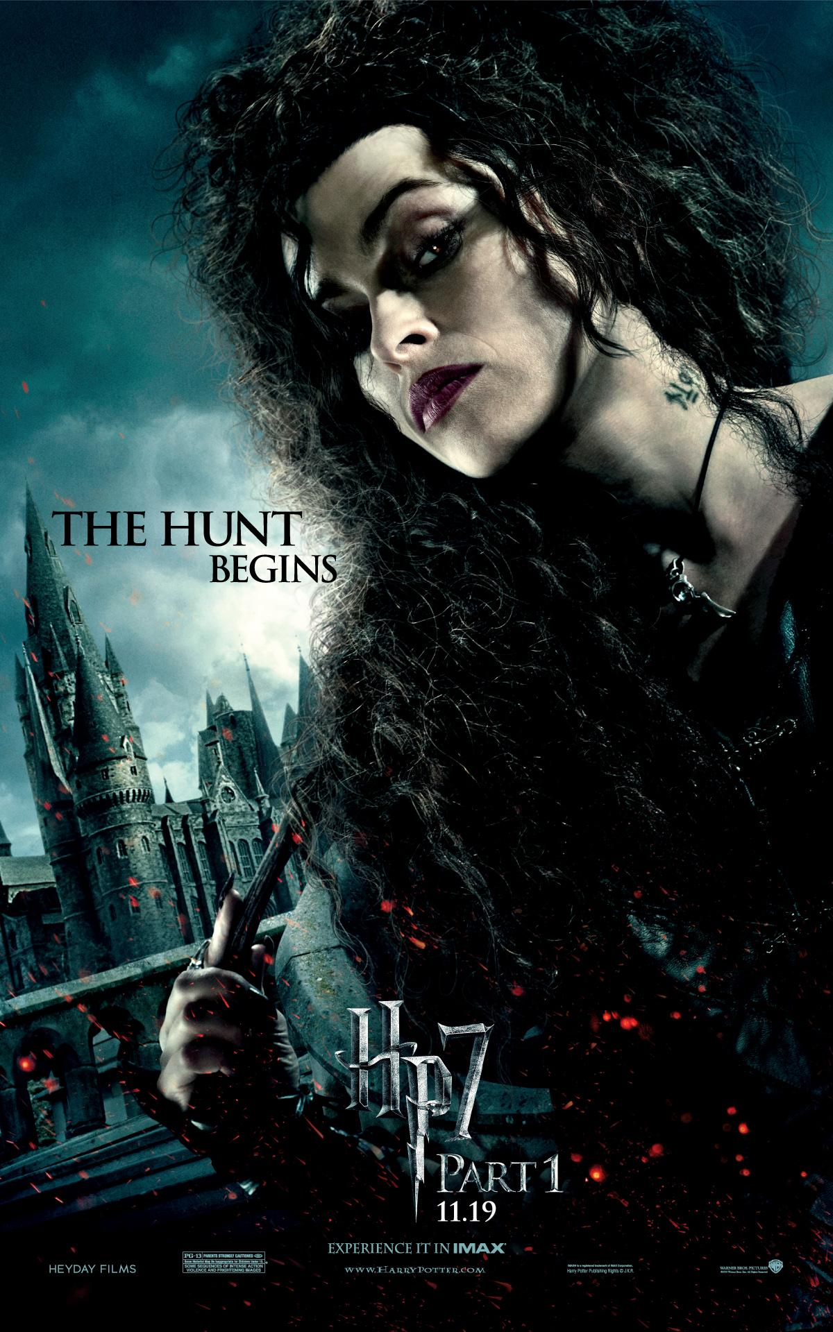 'Deathly Hallows: Part 1' Bellatrix poster