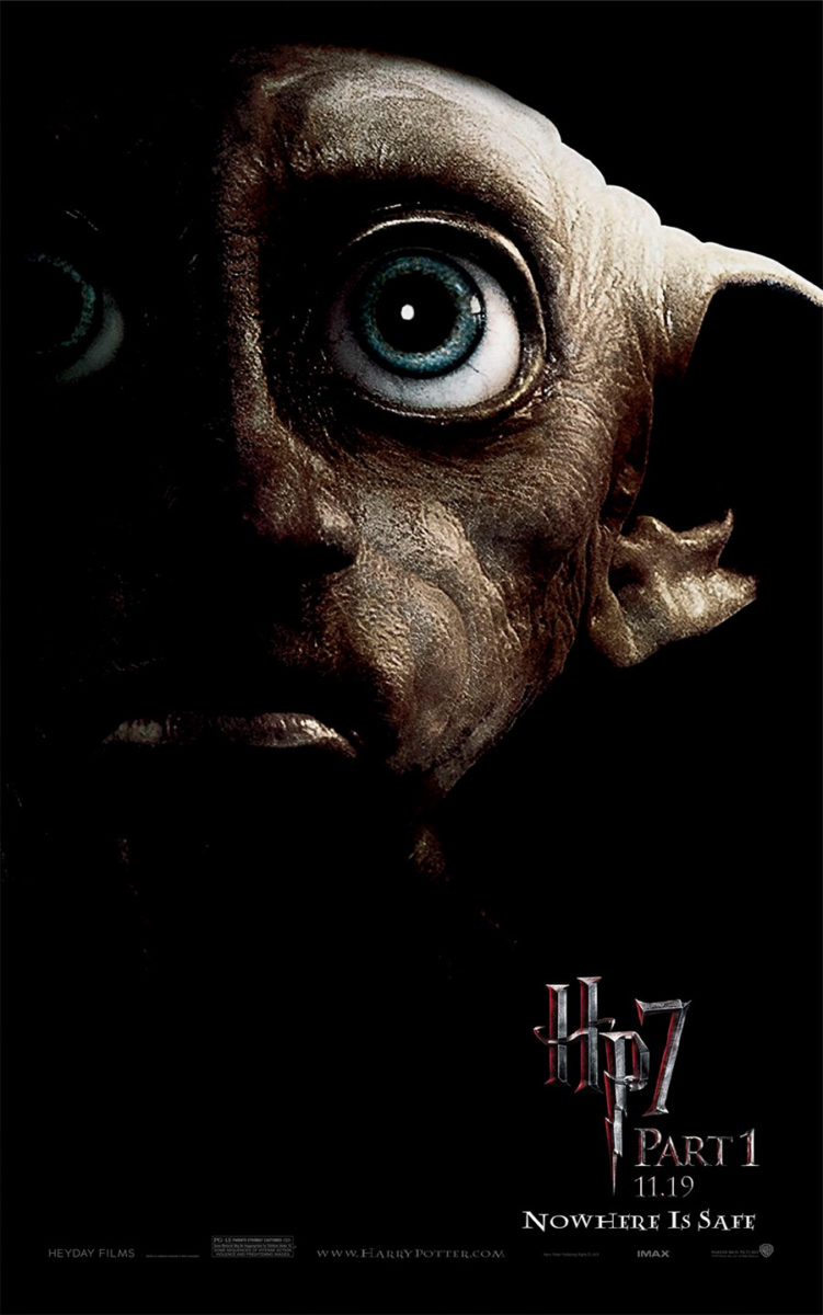 'Deathly Hallows: Part 1' Dobby poster