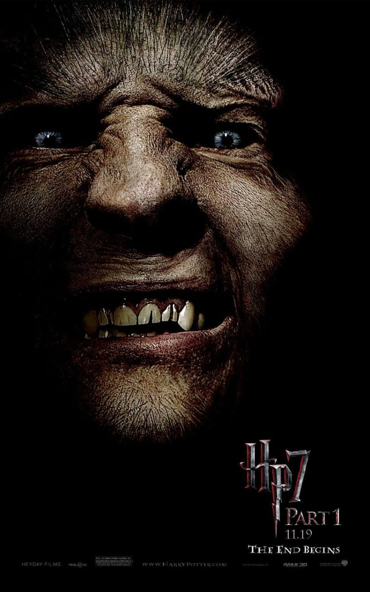 'Deathly Hallows: Part 1' Greyback poster #2