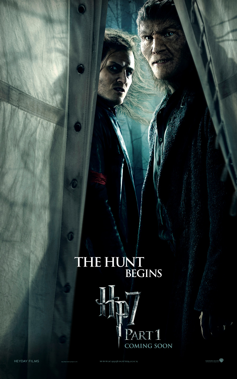 'Deathly Hallows: Part 1' Greyback poster