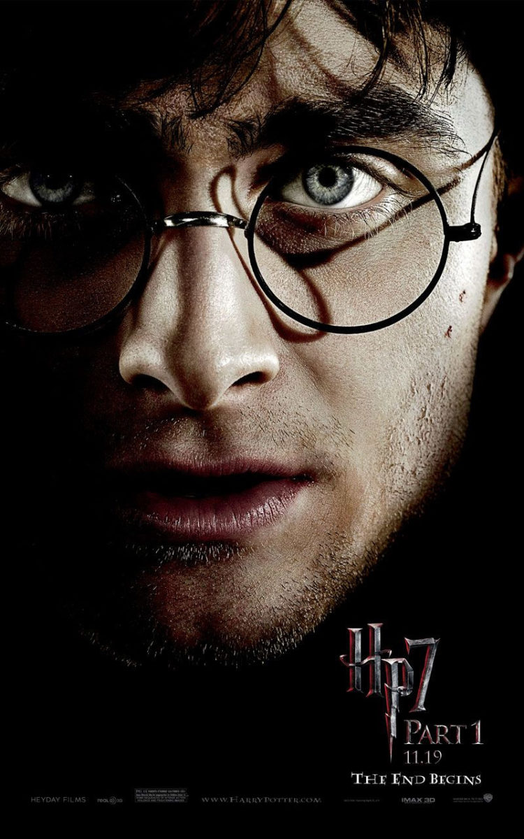'Deathly Hallows: Part 1' Harry poster #2