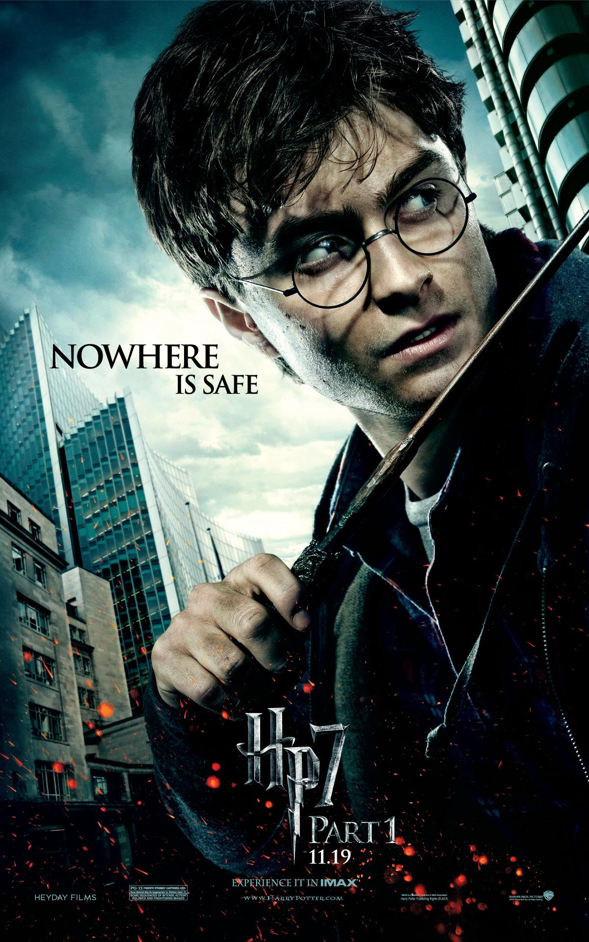 'Deathly Hallows: Part 1' Harry poster