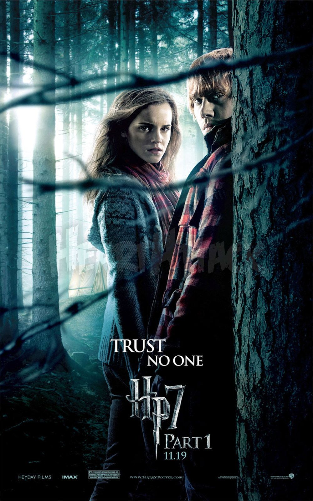 'Deathly Hallows: Part 1' Hermione & Ron poster