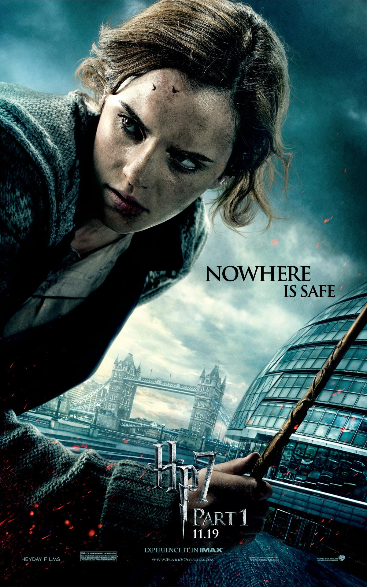 'Deathly Hallows: Part 1' Hermione poster