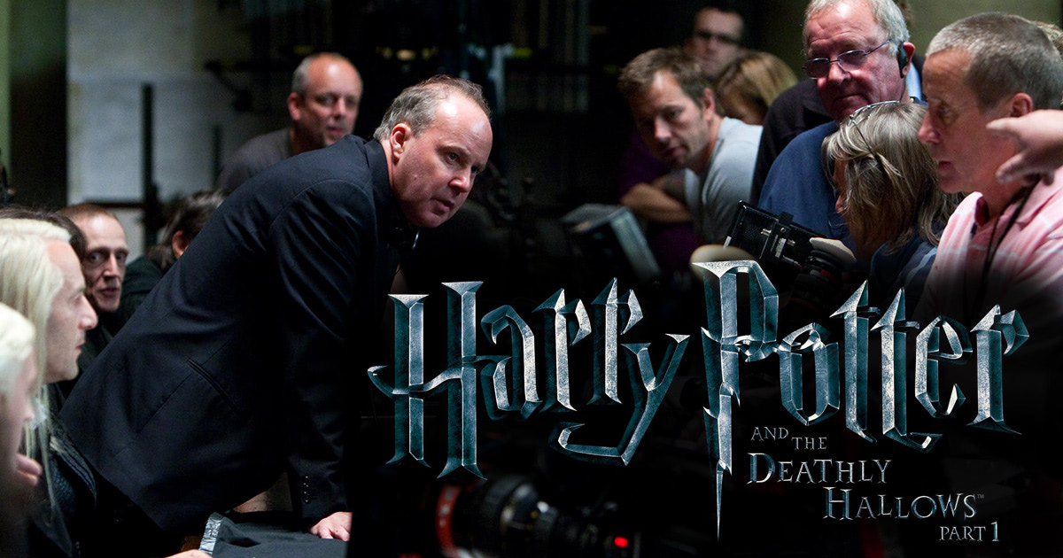 Exclusive 'Harry Potter and the Deathly Hallows' set report