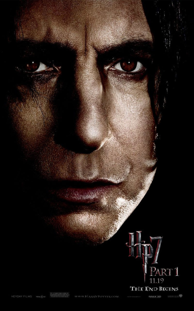 'Deathly Hallows: Part 1' Snape poster #2