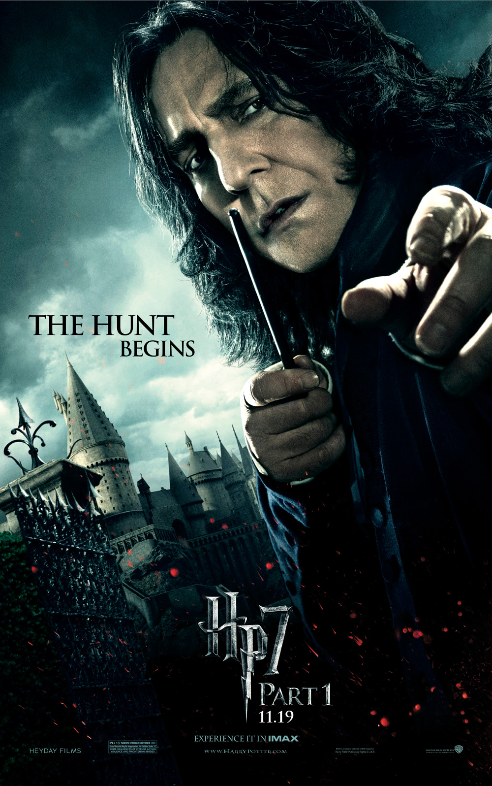 'Deathly Hallows: Part 1' Snape poster