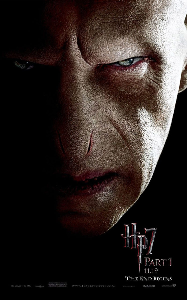 'Deathly Hallows: Part 1' Voldemort poster #2
